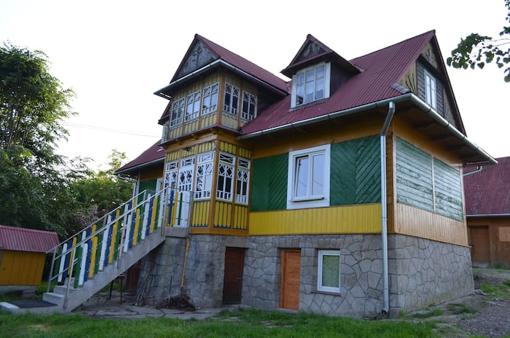 Kolorowy domek - pokój kolorowy