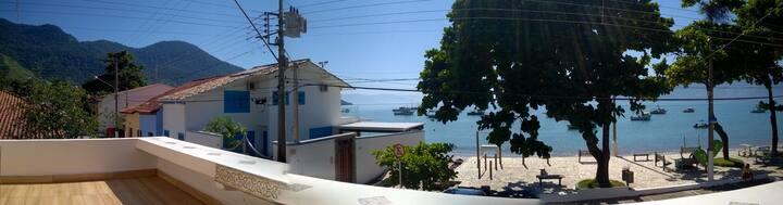 Studio frente ao mar, São Francisco, São Sebastião