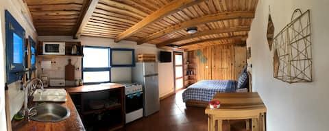 Studio cosy en montagne, terrasse et vue
