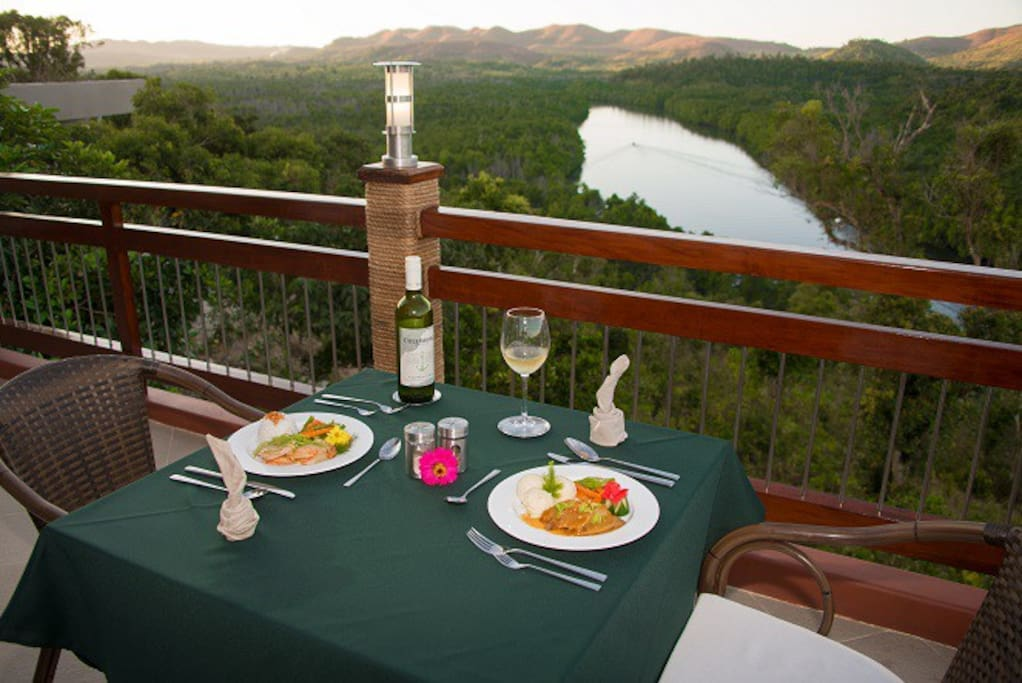 Dine in Style with this View