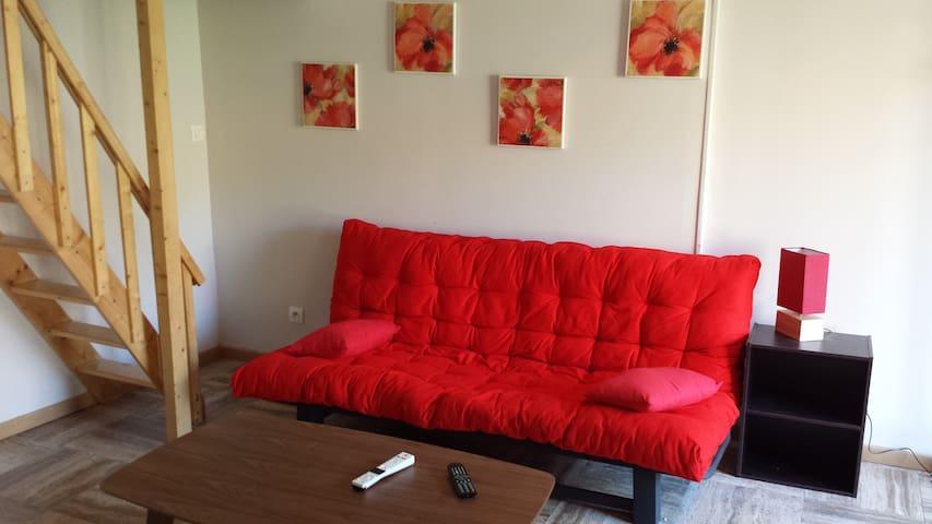 Studio en centre ville sur cour intérieure - Saint-Valery-en-Caux - Appartement