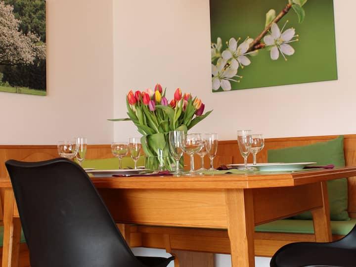 Haus Apfelblüte, (Langenargen am Bodensee), Haus Albert 4, 57qm, 1 Schlafzimmer, max. 4 Personen