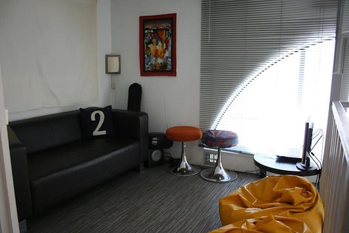 Appartement atypique et calme en centre-ville - La Rochelle - Apartment