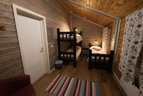 Giellajohka Triple room