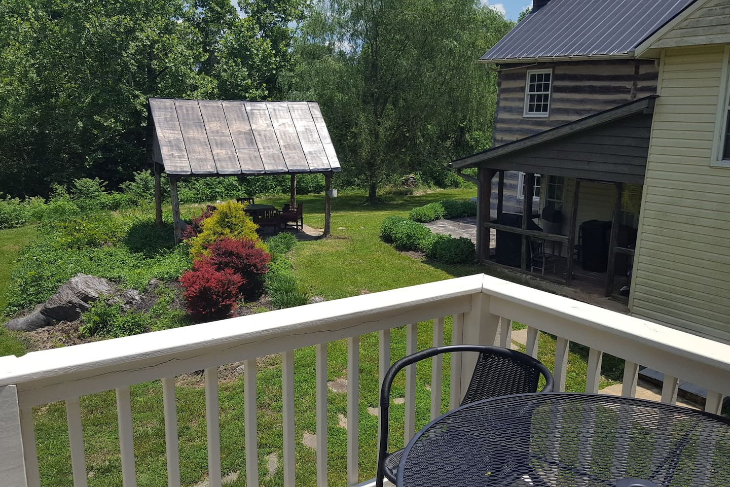 View from the deck of the loft