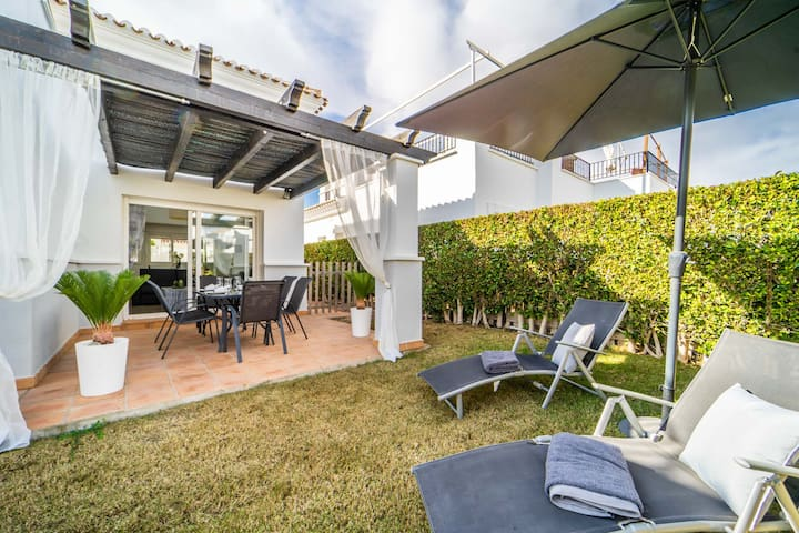 Villa with Hot Tub and Private POOL - LA TORRE GOLF RESORT- MURCIA VACATIONS- PA9
