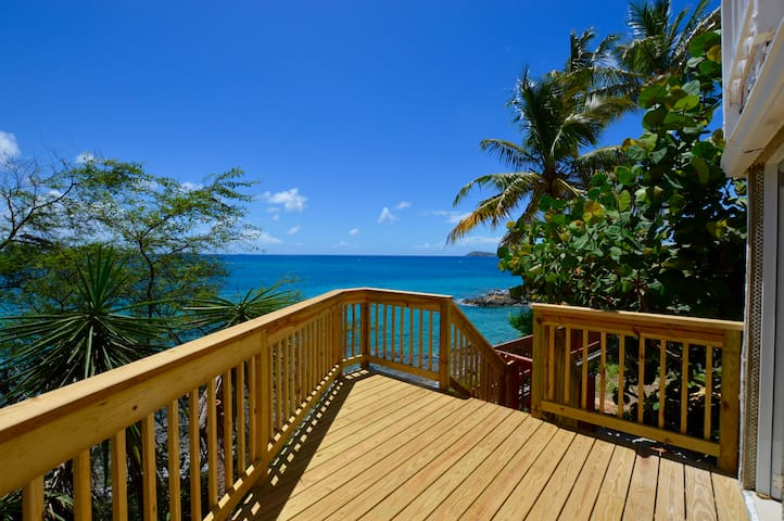 Salty Sway 3 Apt w/ private beach - St. Thomas - Apartament