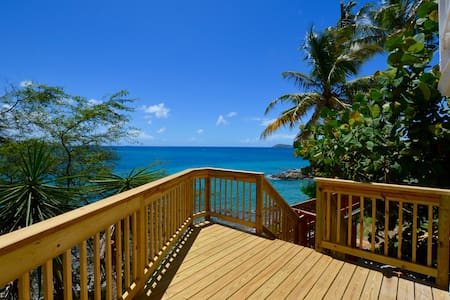 Salty Sway 3 Apt w/ private beach - St. Thomas
