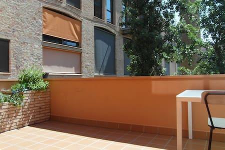 Piso céntrico con gran terraza - Igualada - 公寓