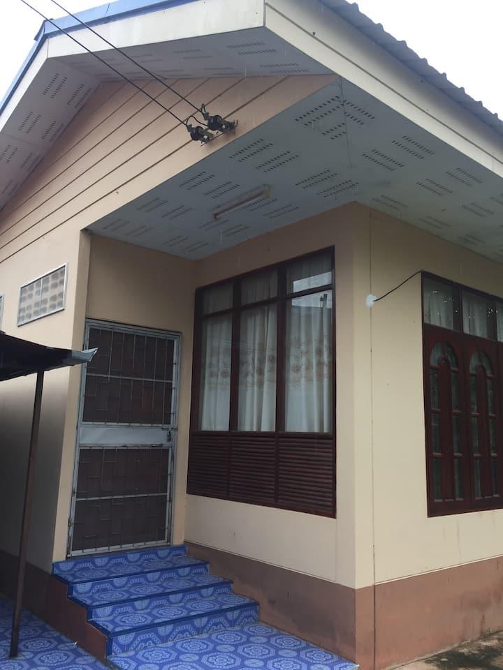 Littel house near Wat Pra that phanom