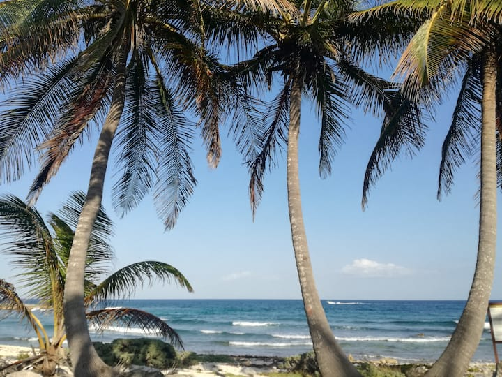 Amazing condo 5 minutes walk to the beach!