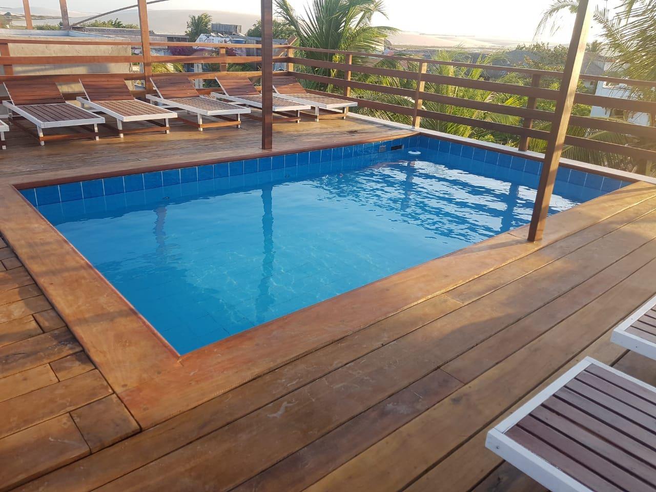 piscina com vista