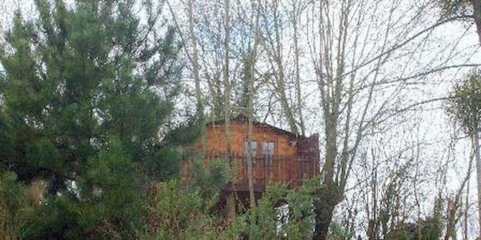 SOJAPI cabane l'écureil 2 à 3 personnes - Saint-Ouen-des-Champs - Blockhütte
