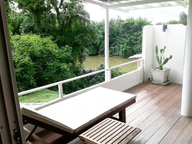 V7 (49sq.m) - Big Balcony + The River Kwai View.