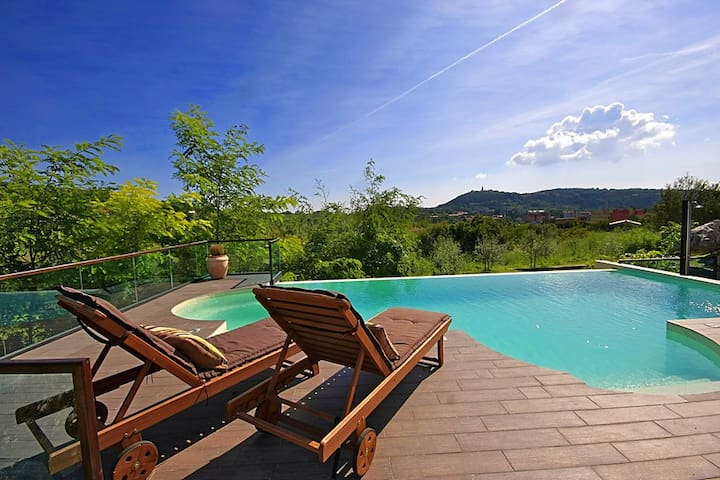 Villa Amneris, great view and swimming pool - Labin - Villa