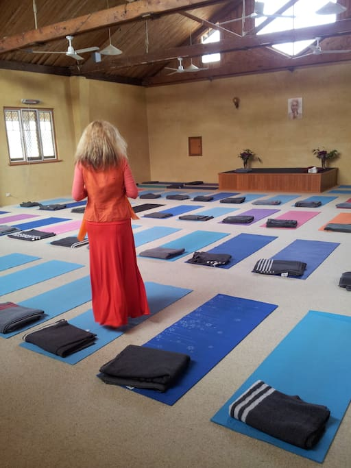 Yoga classes included in your stay