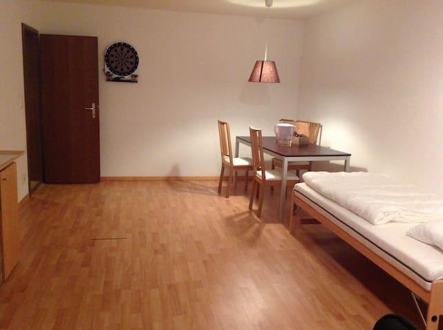 Grossflächiges Zimmer Nähe OLMA/Uni - Sankt Gallen - Wohnung