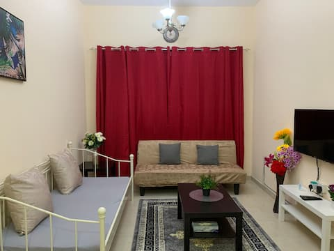 New Furnished  one bedroom for homely stay @ Ajman