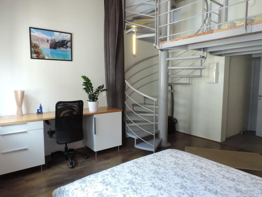 chambre 1er niveau (lit double)