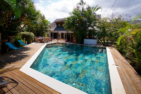 Cocos&co, Villa de charme : jardin, piscine, lagon