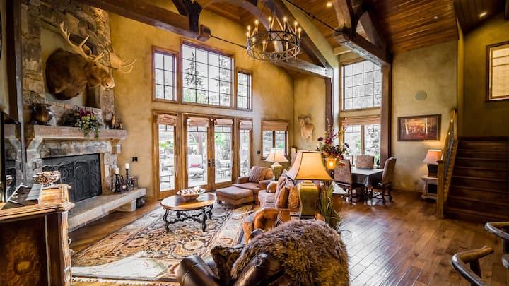 Extravagant Park City Tuscan Lodge Home