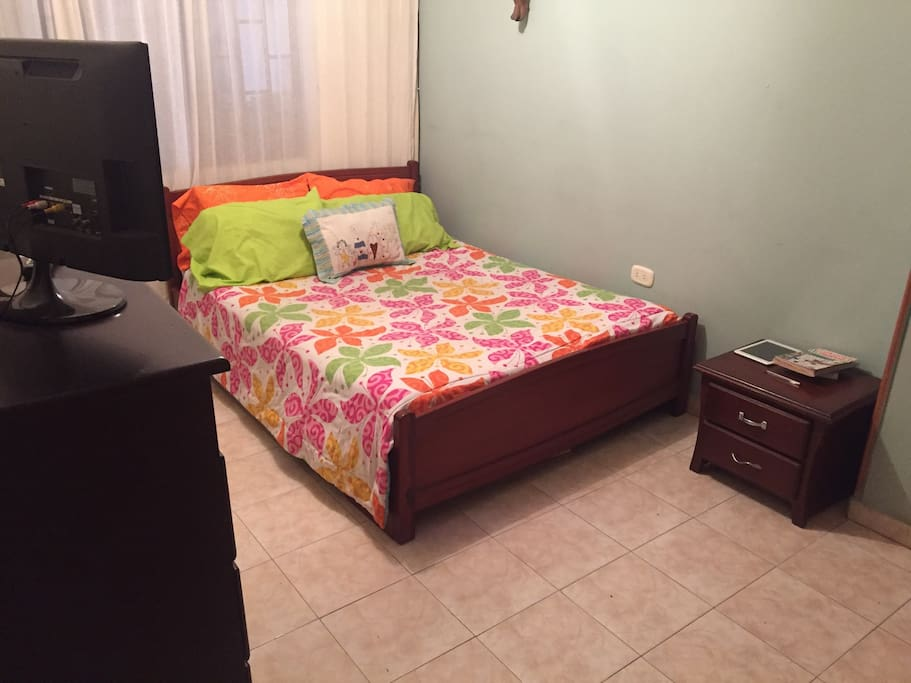 Private and clean, bed in good condition