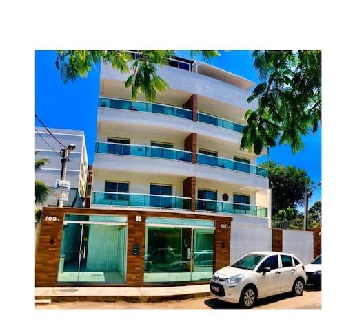 Apartamento a 300 metros da praia