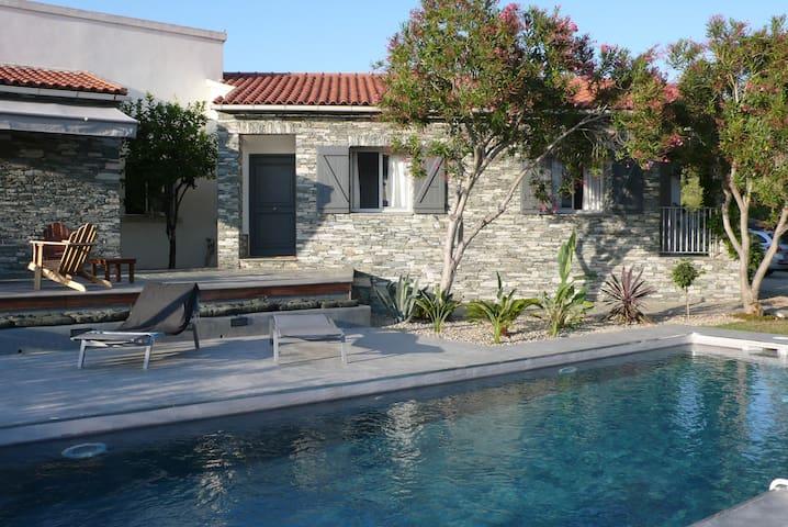 Villa avec Piscine au coeur village - Saint-Florent - Ev