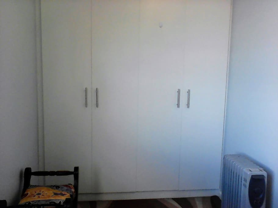 Built in Cupboards in the room