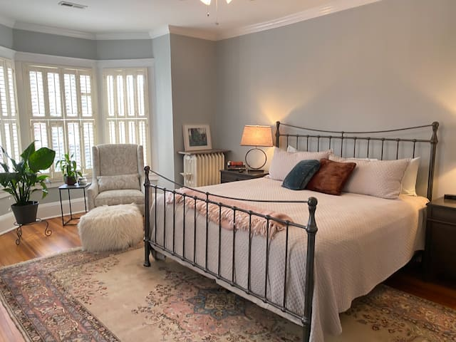 Charming, Spacious, Downtown Suite