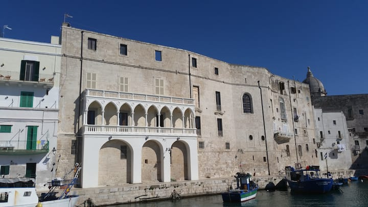 Apartment in Monopoli with terrace in the old city