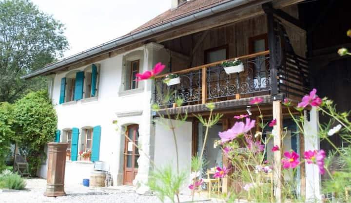Chambres de charme en nature proches de Lausanne