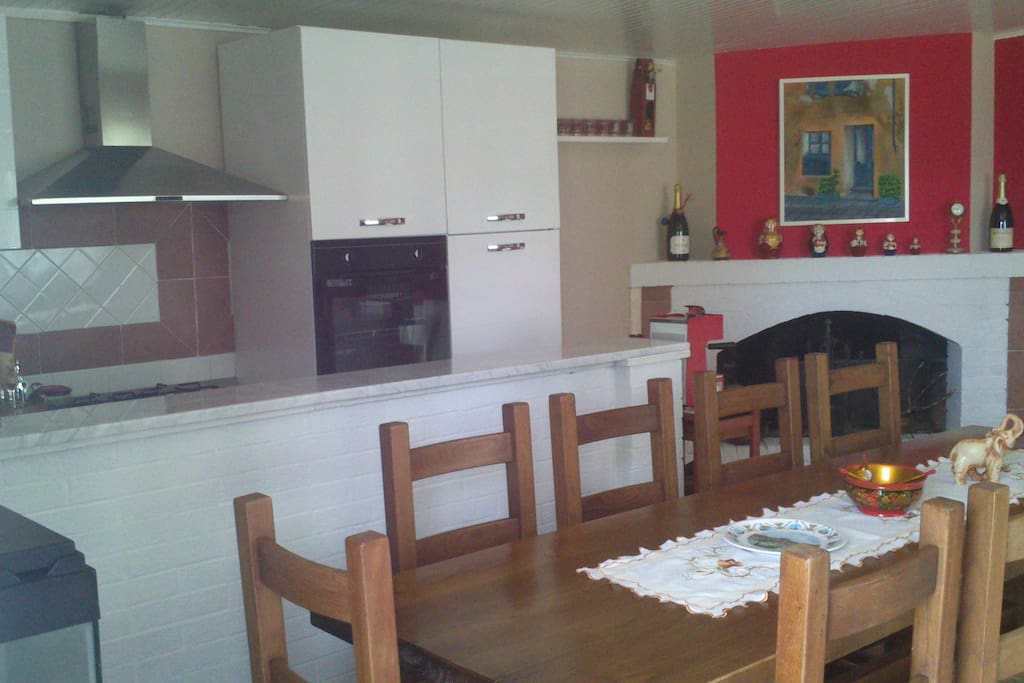 Sala/cucina foto 1 (kitchen and living room)