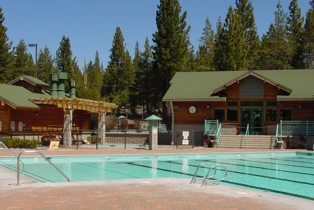 Take a dip in the pool -- open for lap and recreational swimming.