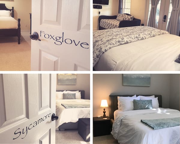 The Foxglove & Sycamore Suite at Potomac Overlook