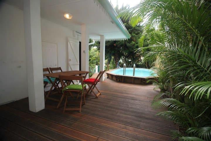 Le Frangipanier Villa avec piscine