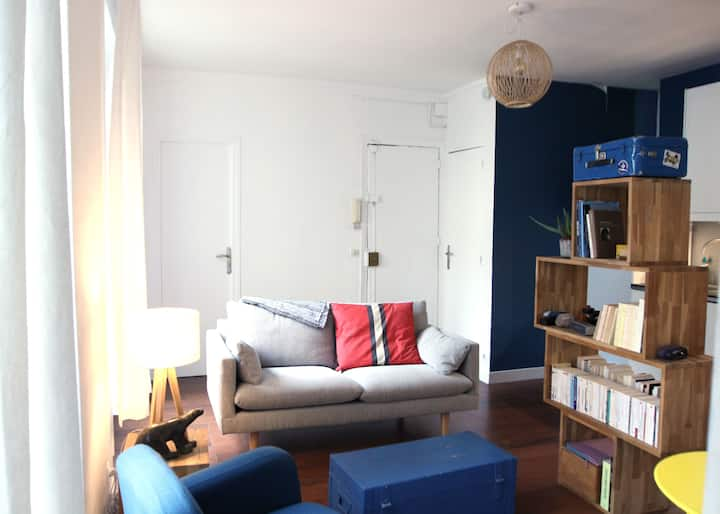 Charming apartment in Batignolles  - Professional Cleaning