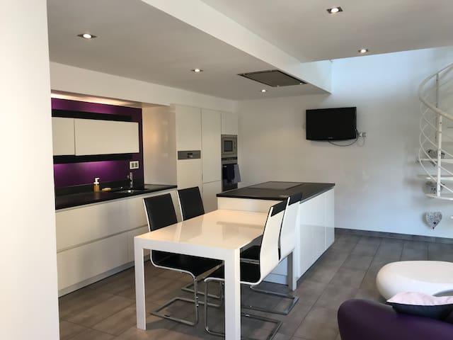 Maison contemporaine individuelle