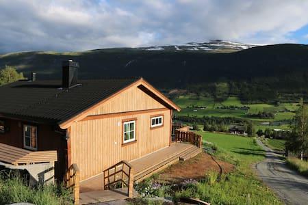 Nyoppført hus med høy standard i rolige omgivelser