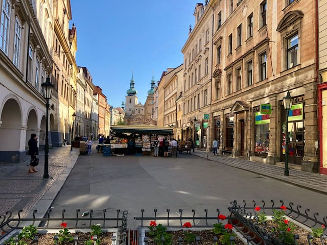 Romantic Mozart Apartment in historic Prague