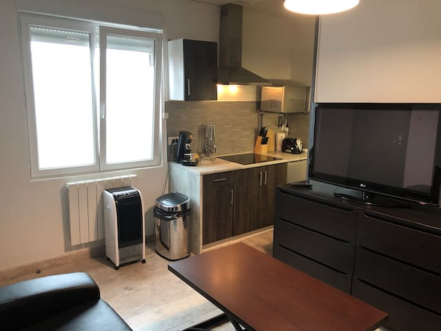 petit appartement fonctionnel en duplex