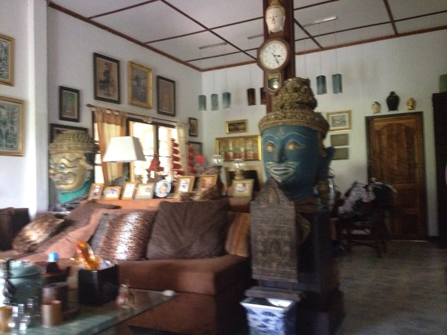 Living room Thai stye
