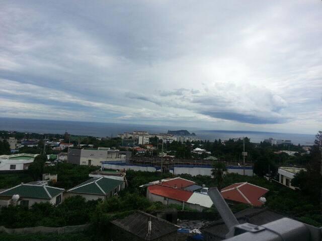 Oceanview Seoho Medici 서귀포 투룸(遠い海の見える静かで清潔な宿泊施設) - Seogwipo-si - Appartement