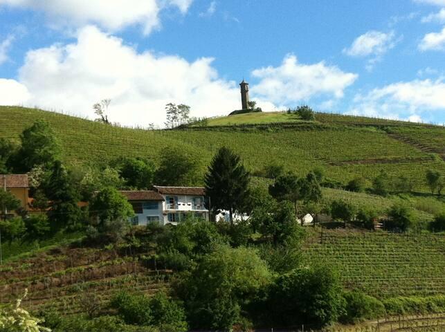 lussuosa cascina nel cuore del monferrato - Canelli - Villa
