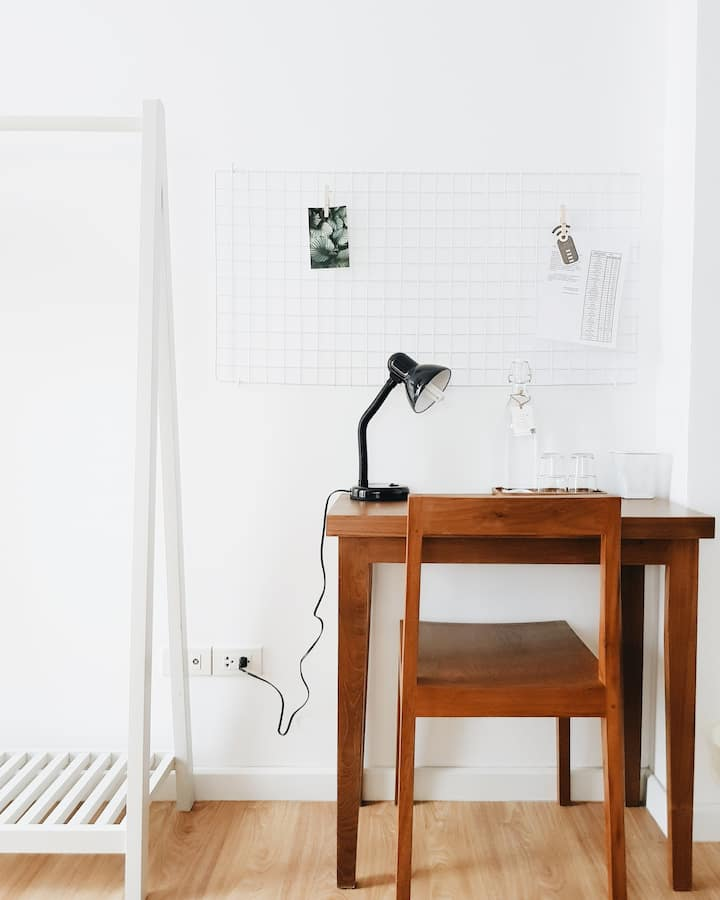Private Double Studio + Coworking Space
