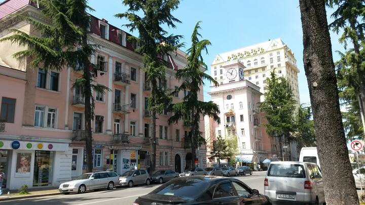 Квартира с балконом на З.Горгиладзе 1
