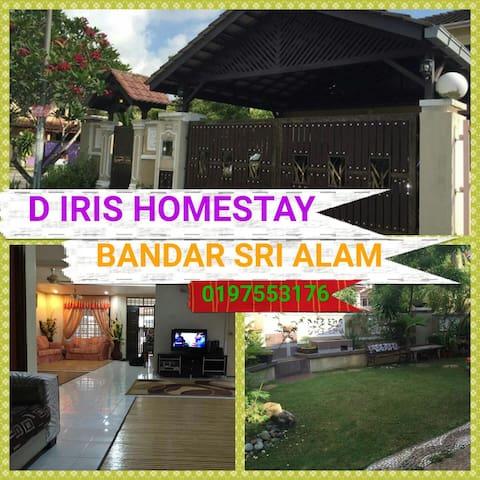 D IRIS HOMESTAY SRI ALAM MASAI - Masai - Dom