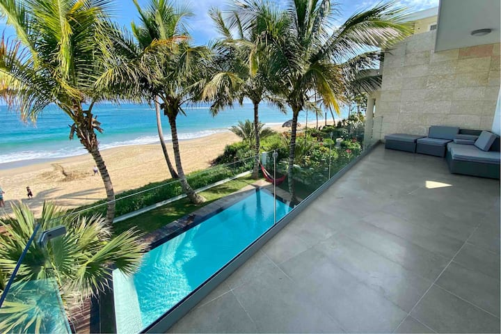 Modern Beachfront Home | Kite Beach Villa + Pool