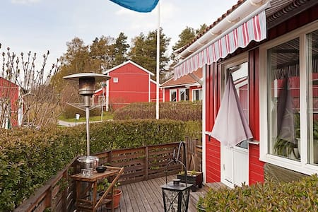 Apartment with terrace near sea and nature - Åkersberga - Lägenhet