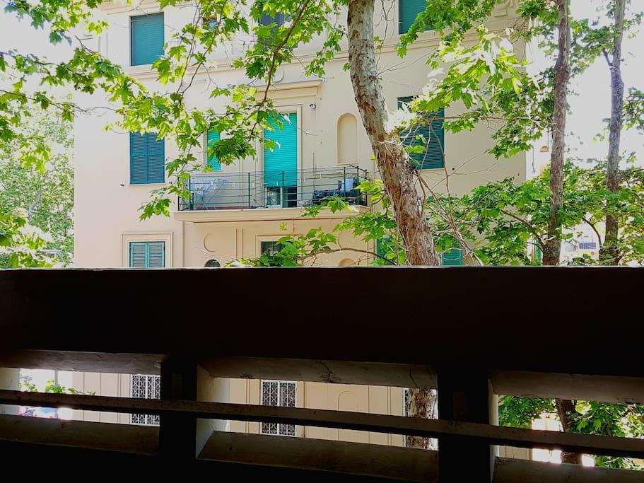 balcone camera matrimoniale